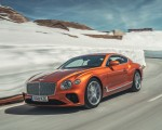 2018 Bentley Continental GT (Color: Orange Flame) Front Three-Quarter Wallpapers 150x120 (5)