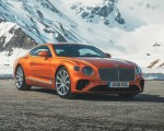 2018 Bentley Continental GT (Color: Orange Flame) Front Wallpapers 150x120 (16)