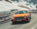 2018 Bentley Continental GT (Color: Orange Flame) Front Wallpapers 150x120 (1)