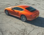 2018 Bentley Continental GT (Color: Orange Flame) Rear Three-Quarter Wallpapers 150x120 (17)