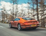 2018 Bentley Continental GT (Color: Orange Flame) Rear Three-Quarter Wallpapers 150x120 (11)