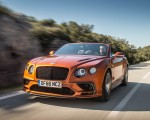 2018 Bentley Continental GT Supersports Convertible (Color: Orange Flame) Front Three-Quarter Wallpapers 150x120 (48)
