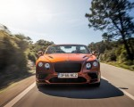 2018 Bentley Continental GT Supersports Convertible (Color: Orange Flame) Front Wallpapers 150x120 (50)