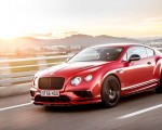 2018 Bentley Continental GT Supersports Coupe (Color: St. James Red) Front Three-Quarter Wallpapers 150x120 (11)
