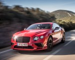 2018 Bentley Continental GT Supersports Coupe (Color: St. James Red) Front Three-Quarter Wallpapers 150x120 (3)
