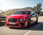2018 Bentley Continental GT Supersports Coupe (Color: St. James Red) Front Three-Quarter Wallpapers 150x120 (4)
