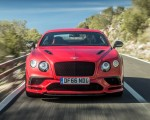 2018 Bentley Continental GT Supersports Coupe (Color: St. James Red) Front Wallpapers 150x120 (2)