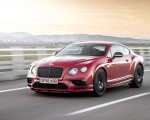 2018 Bentley Continental GT Supersports Coupe (Color: St. James Red) Front Wallpapers 150x120 (12)