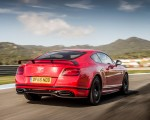 2018 Bentley Continental GT Supersports Coupe (Color: St. James Red) Rear Three-Quarter Wallpapers 150x120 (14)