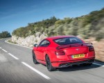2018 Bentley Continental GT Supersports Coupe (Color: St. James Red) Rear Three-Quarter Wallpapers 150x120 (5)