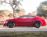 2018 Bentley Continental GT Supersports Coupe (Color: St. James Red) Side Wallpapers 150x120 (7)