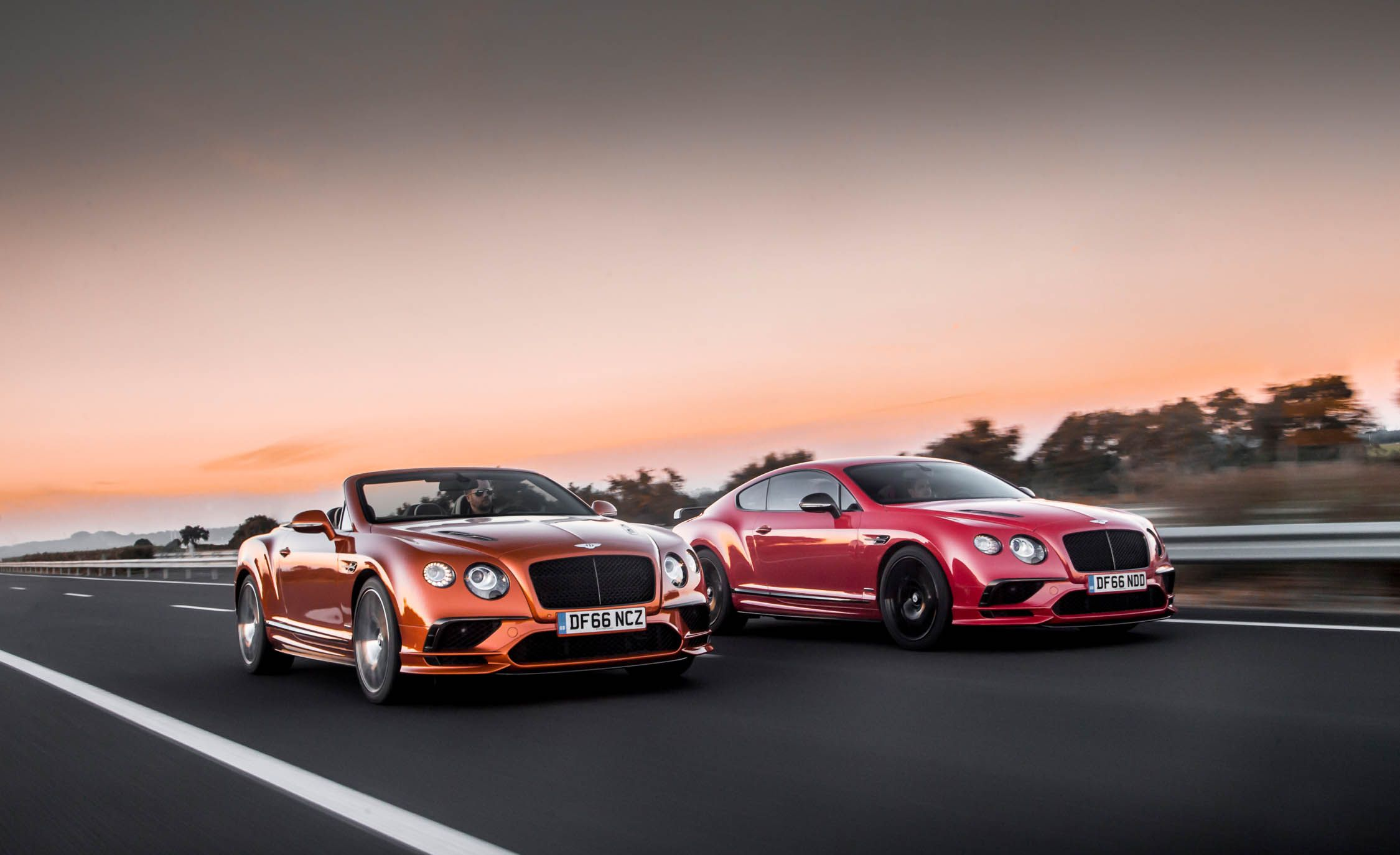 2018 Bentley Continental GT Supersports Coupe and Bentley Continental GT Convertible Wallpapers (8)