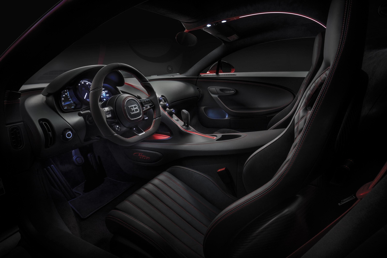 2018 Bugatti Chiron Sport Interior Wallpapers (13)