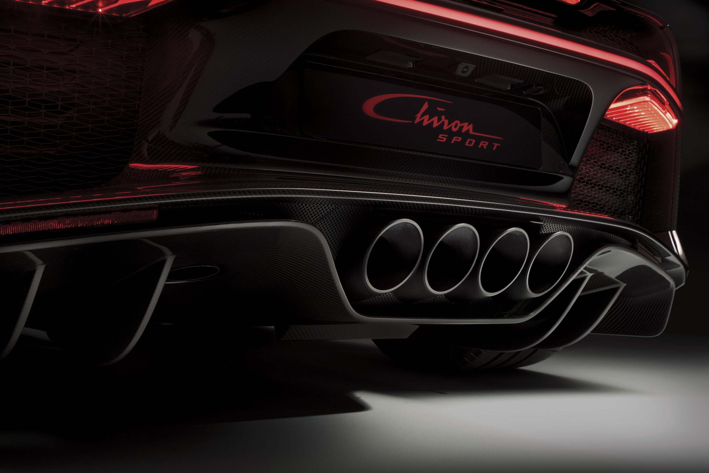 2018 Bugatti Chiron Sport Tailpipe Wallpapers (11)