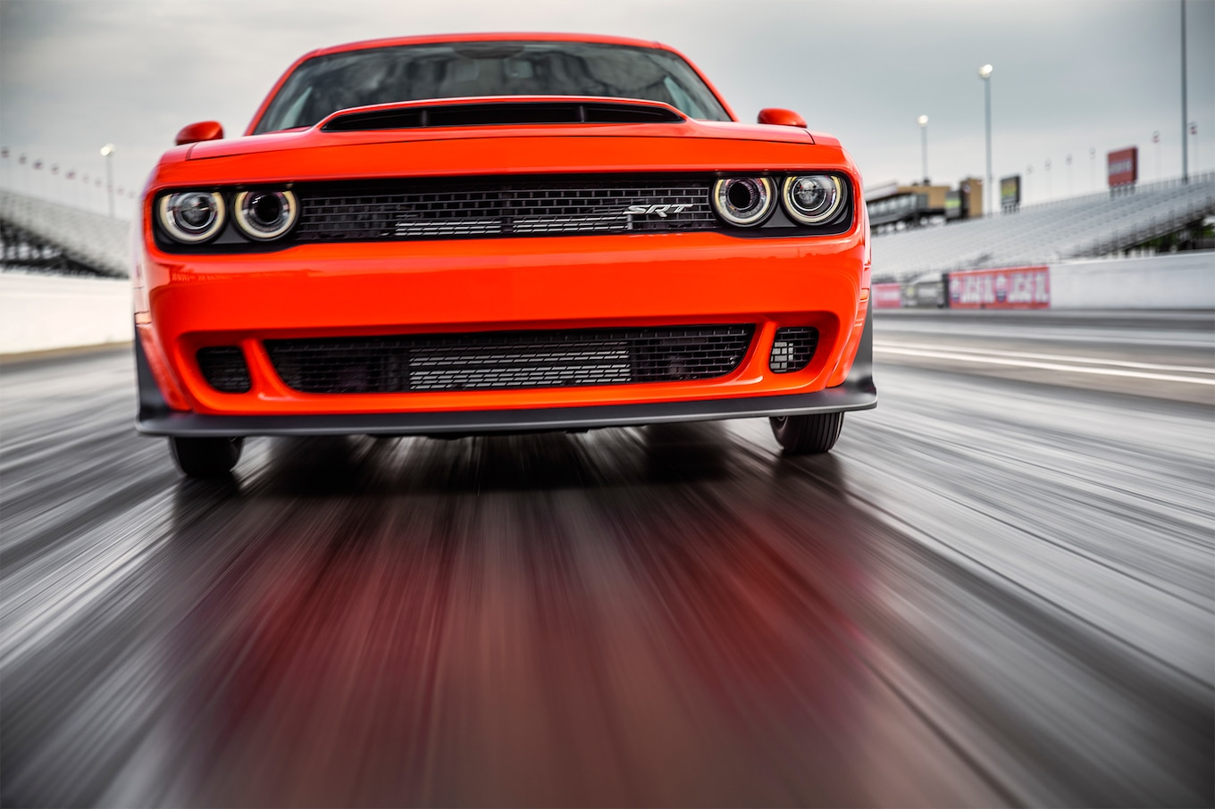 2018 Dodge Challenger SRT Demon Front Wallpapers (4)