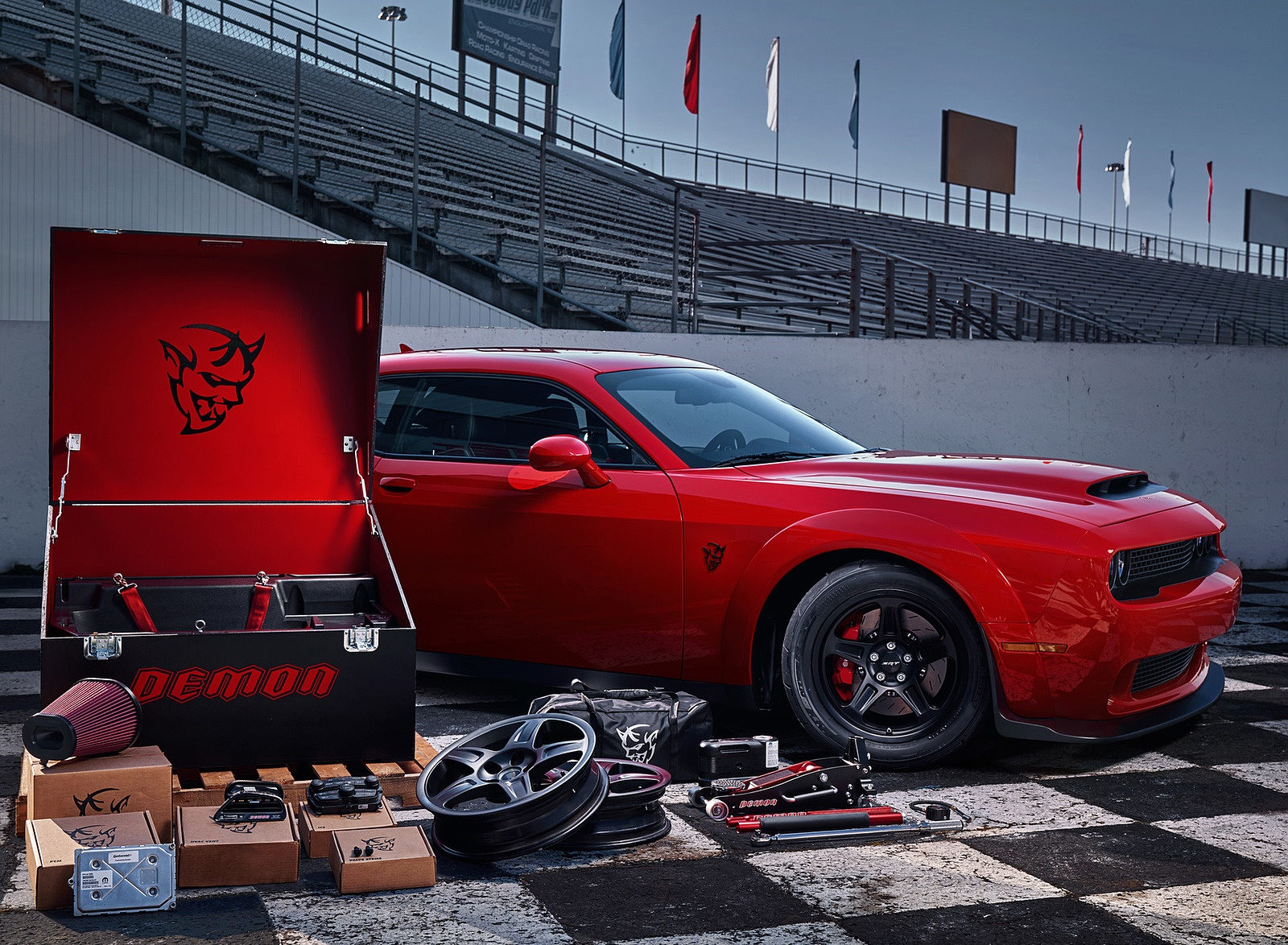 2018 Dodge Challenger Srt Demon Side Wallpapers 66 Newcarcars
