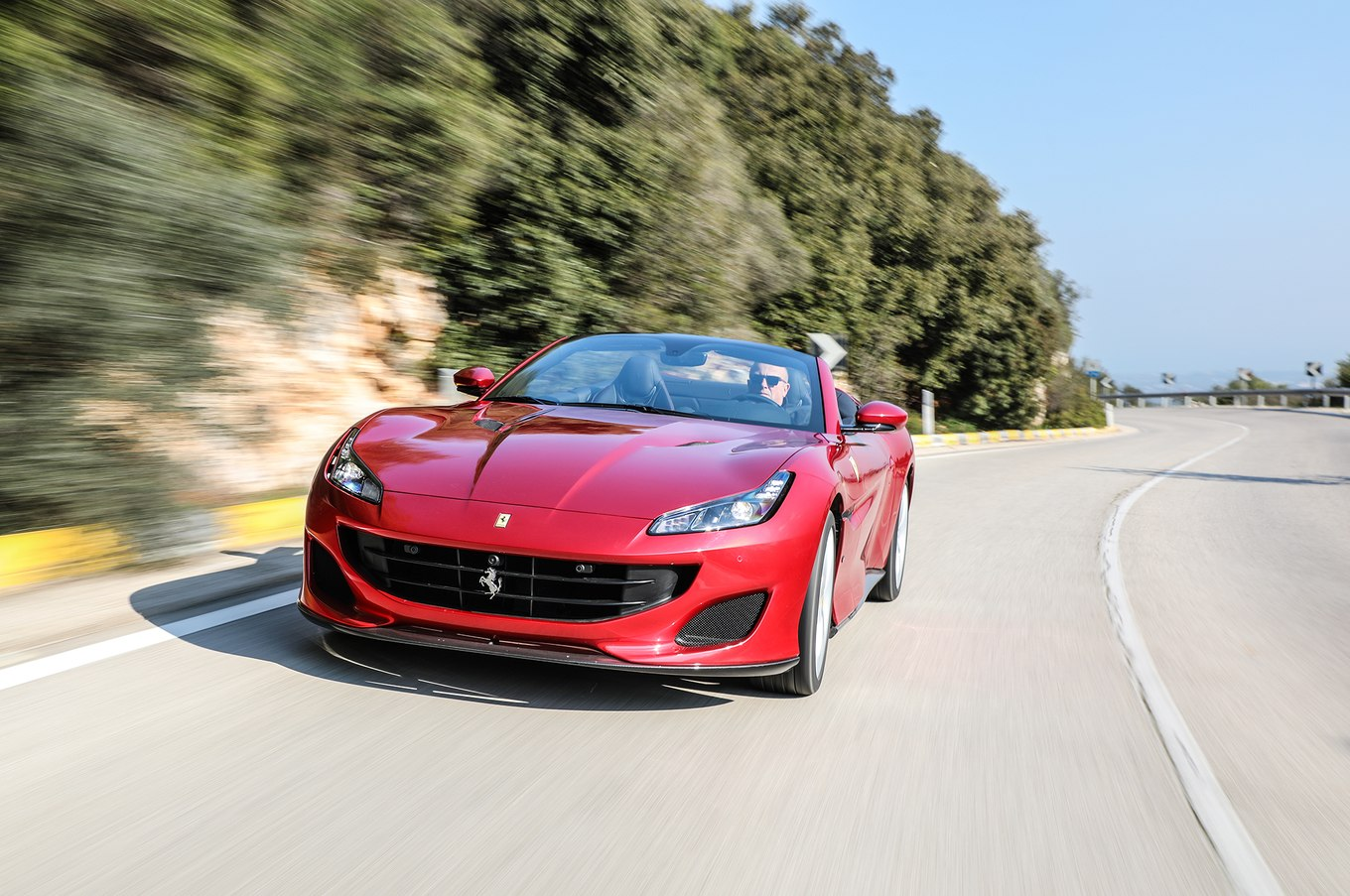 2018 Ferrari Portofino Front Three-Quarter Wallpapers (9)