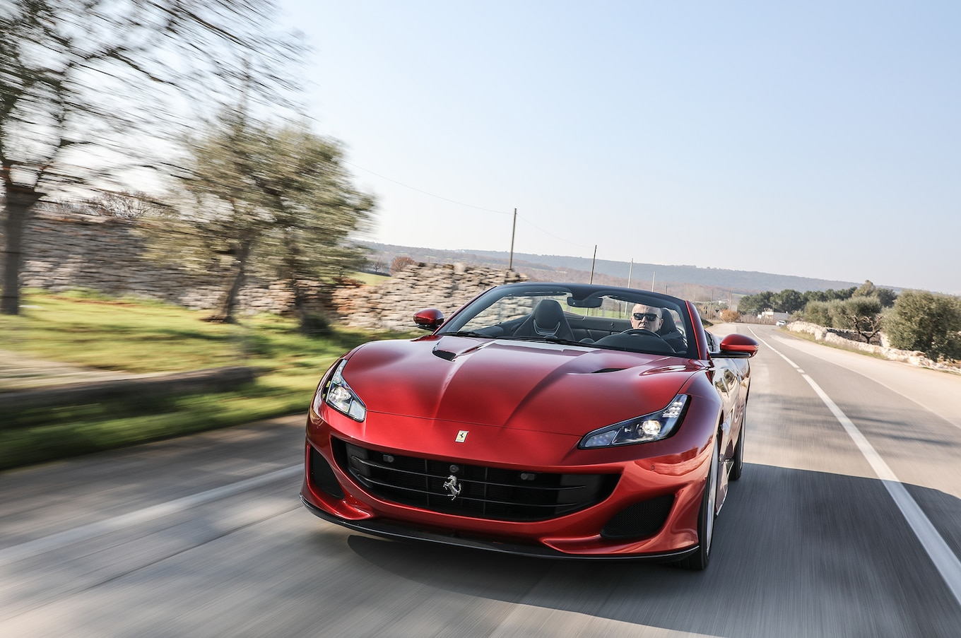 2018 Ferrari Portofino Front Three-Quarter Wallpapers (2)