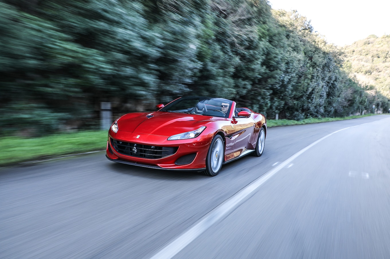 2018 Ferrari Portofino Front Three-Quarter Wallpapers (10)