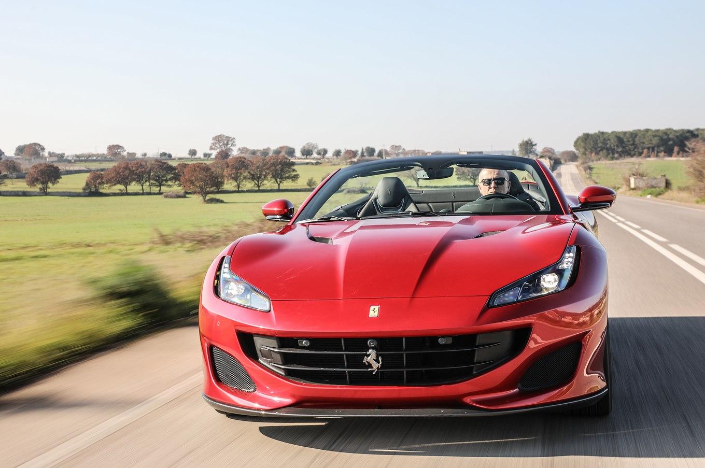 2018 Ferrari Portofino Front Wallpapers (14)