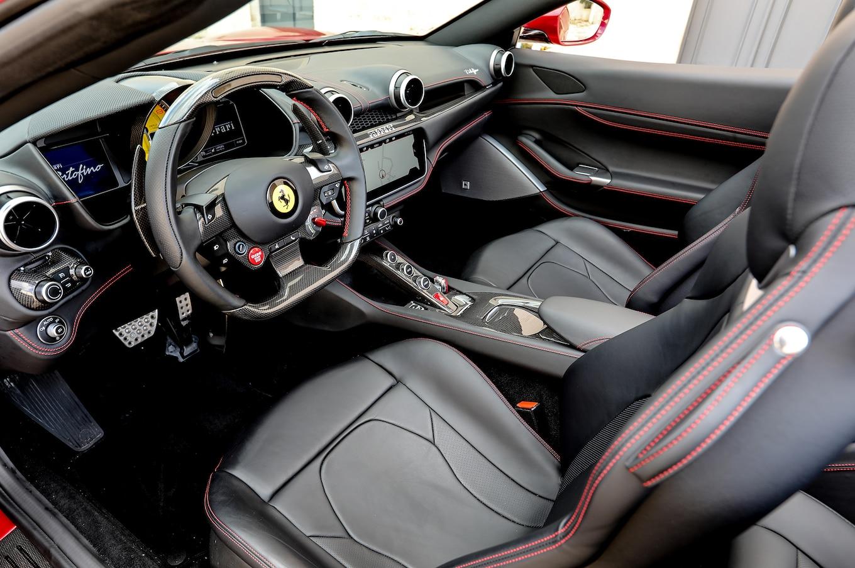 2018 Ferrari Portofino Interior Front Seats Wallpapers 111 Newcarcars