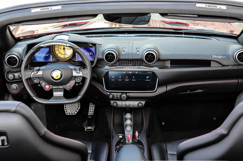2018 Ferrari Portofino Interior Seats Wallpapers 109 Newcarcars