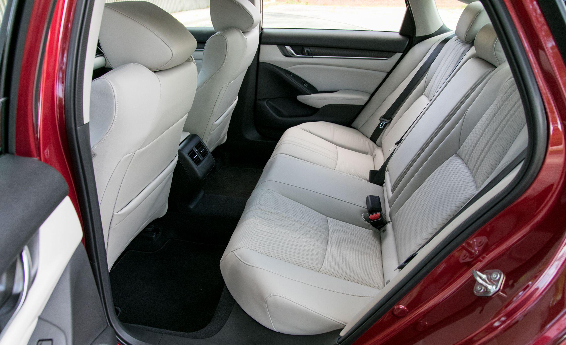 2018 Honda Accord Hybrid Interior Rear Seats Wallpapers (14)