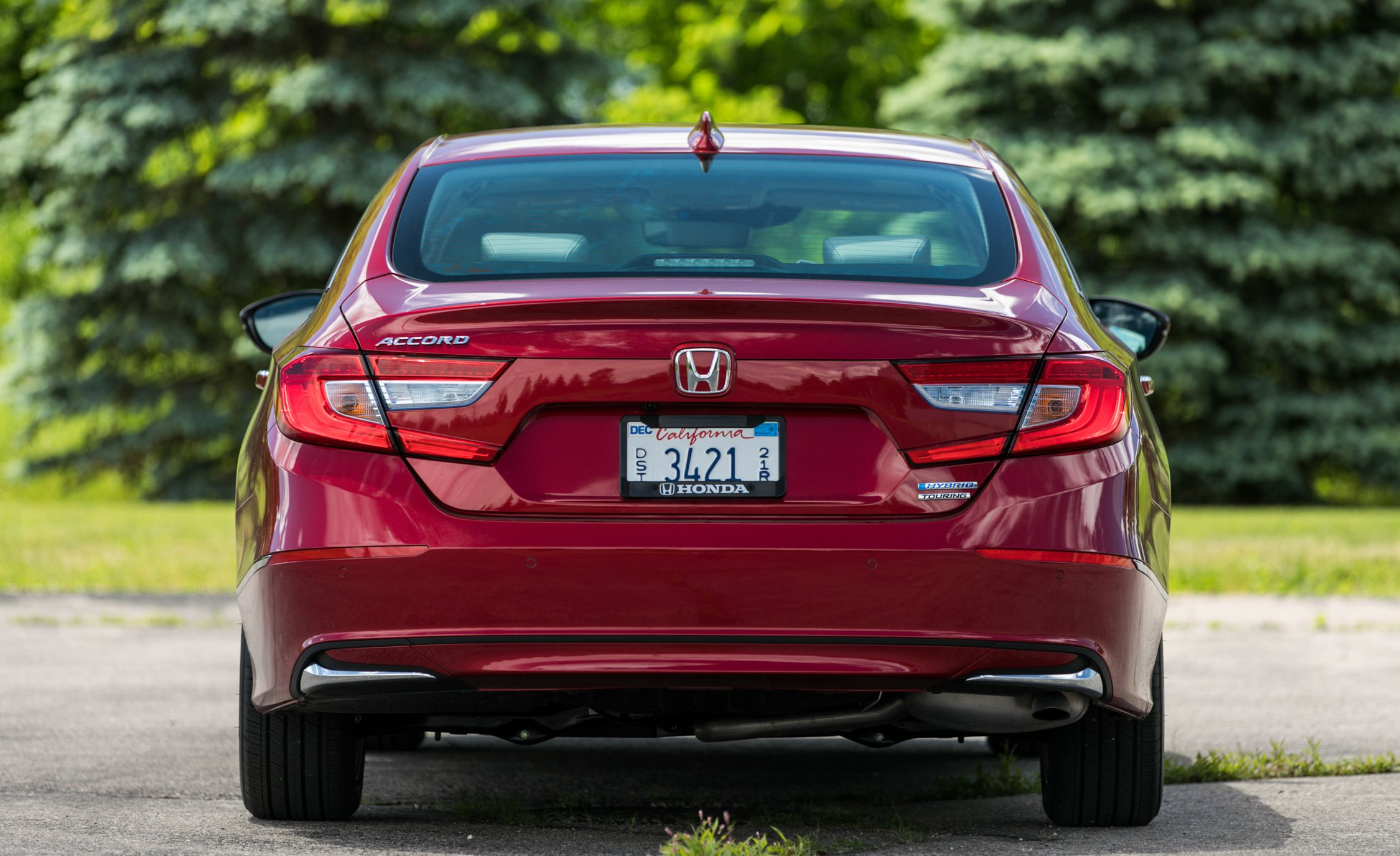 2018 Honda Accord Hybrid Rear Wallpapers (7)