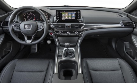 2018 Honda Accord Sport 2.0T Manual Interior Cockpit Wallpapers 450x275 (32)