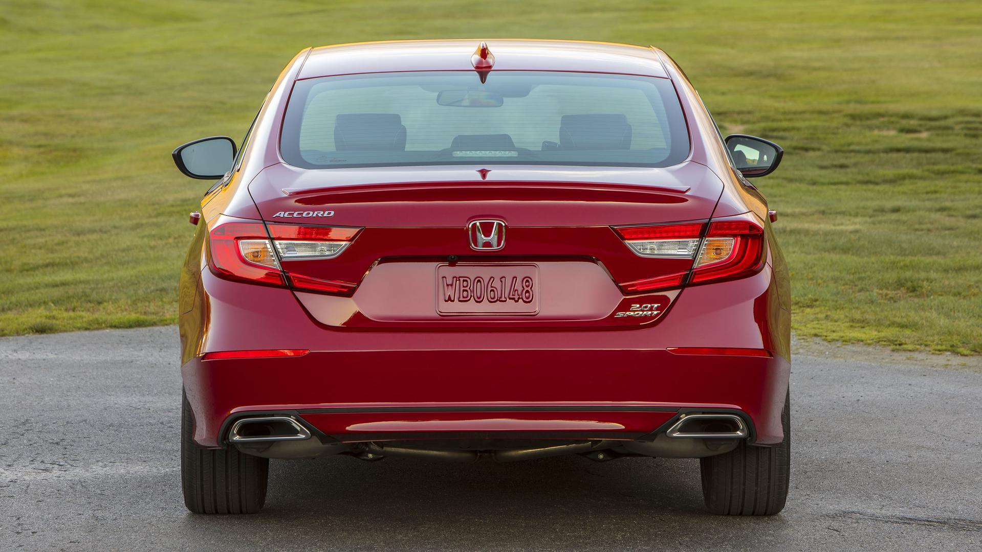 2018 Honda Accord Sport 2.0T Manual Rear Wallpapers (15)