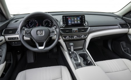 2018 Honda Accord Touring 1.5T Interior Cockpit Wallpapers 450x275 (89)
