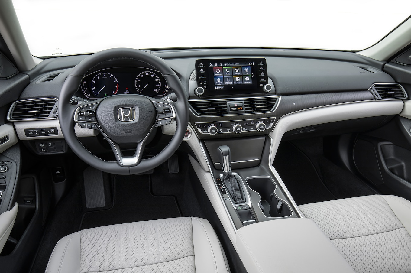 2018 Honda Accord Touring 1.5T Interior Cockpit Wallpapers #89 of 107