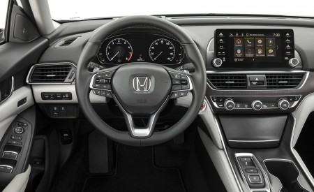 2018 Honda Accord Touring Interior Cockpit Wallpapers 450x275 (106)