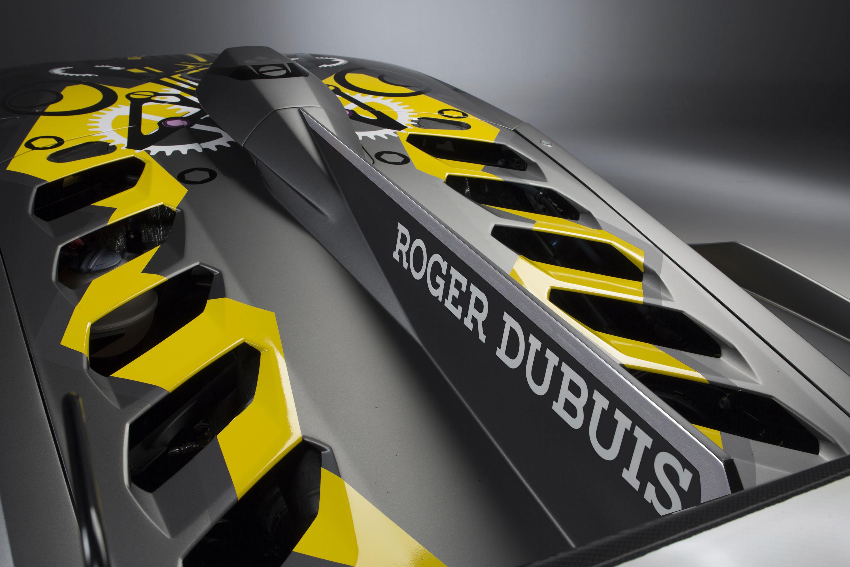 2018 Lamborghini Huracán Super Trofeo EVO Detail Wallpaper (14)