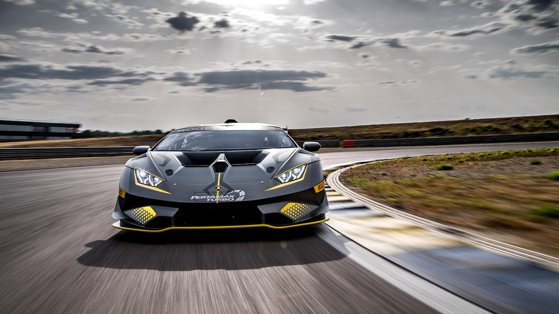 2018 Lamborghini Huracán Super Trofeo EVO Front Wallpapers (3)