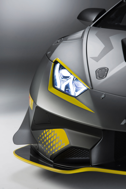 2018 Lamborghini Huracán Super Trofeo EVO Headlight Wallpaper (11)