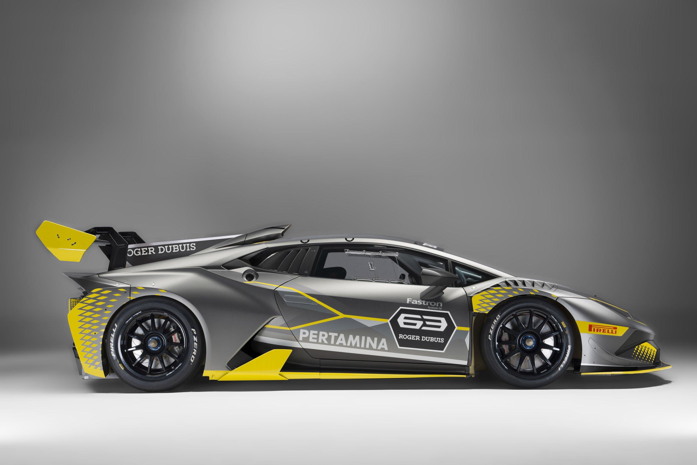 2018 Lamborghini Huracán Super Trofeo EVO Side Wallpapers (7)