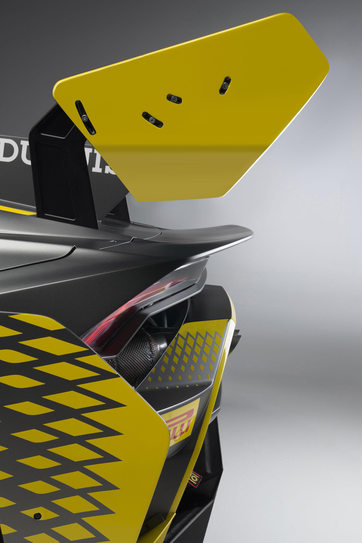 2018 Lamborghini Huracán Super Trofeo EVO Spoiler Wallpapers (10)