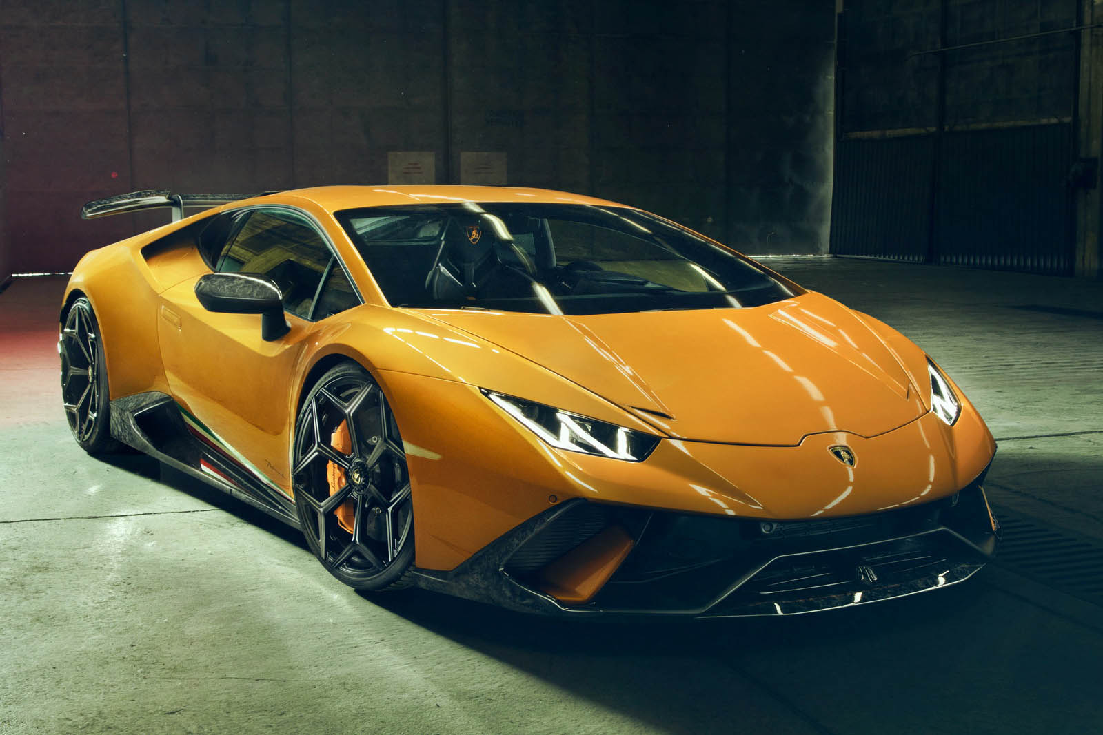2018 NOVITEC Lamborghini Huracán Performante Front Wallpapers (2)