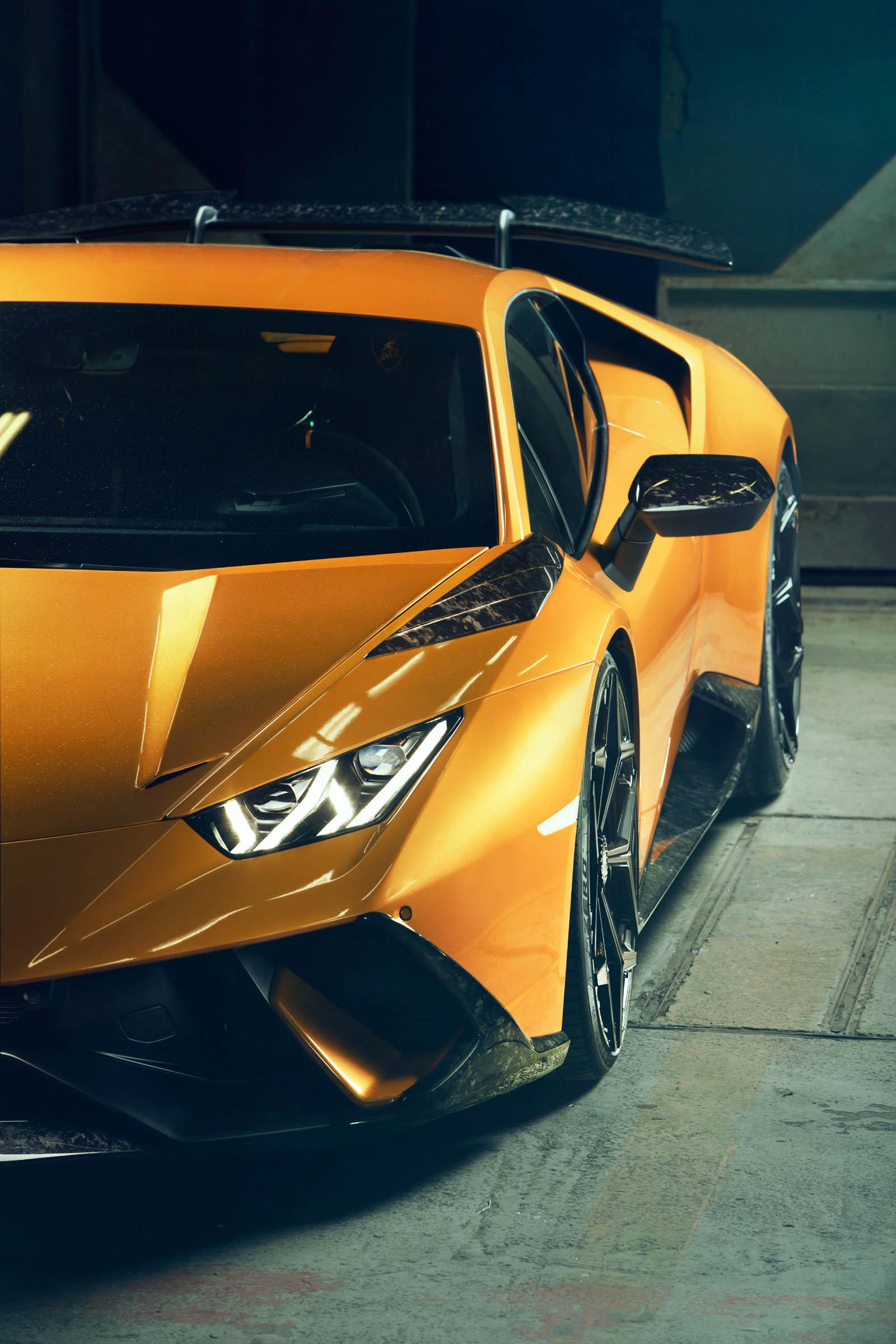 2018 Novitec Lamborghini Huracan Performante Headlight Wallpaper 13