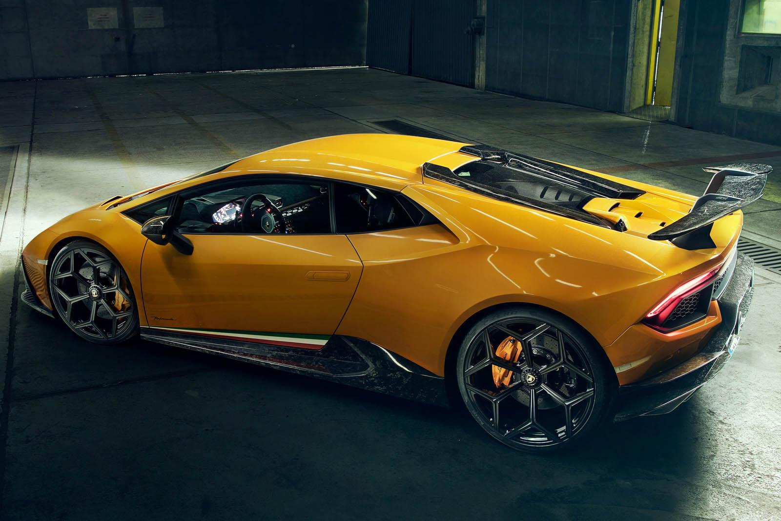 2018 NOVITEC Lamborghini Huracán Performante Rear Three-Quarter Wallpaper (14)