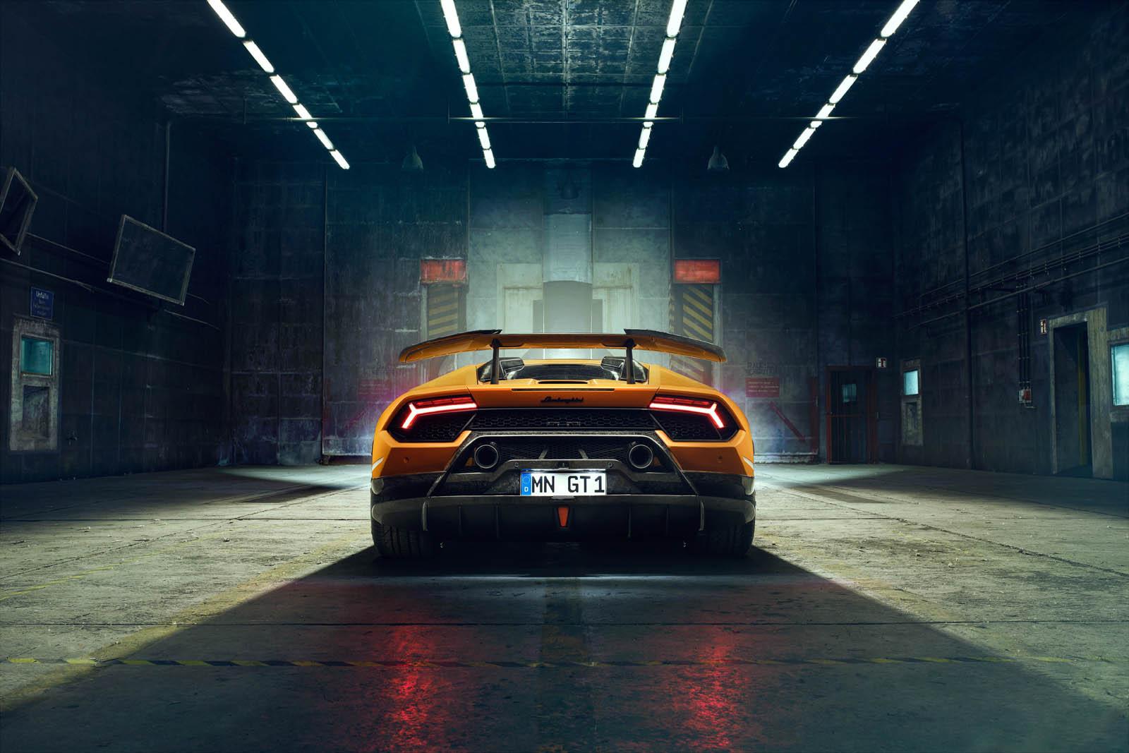 2018 NOVITEC Lamborghini Huracán Performante Rear Wallpaper (11)