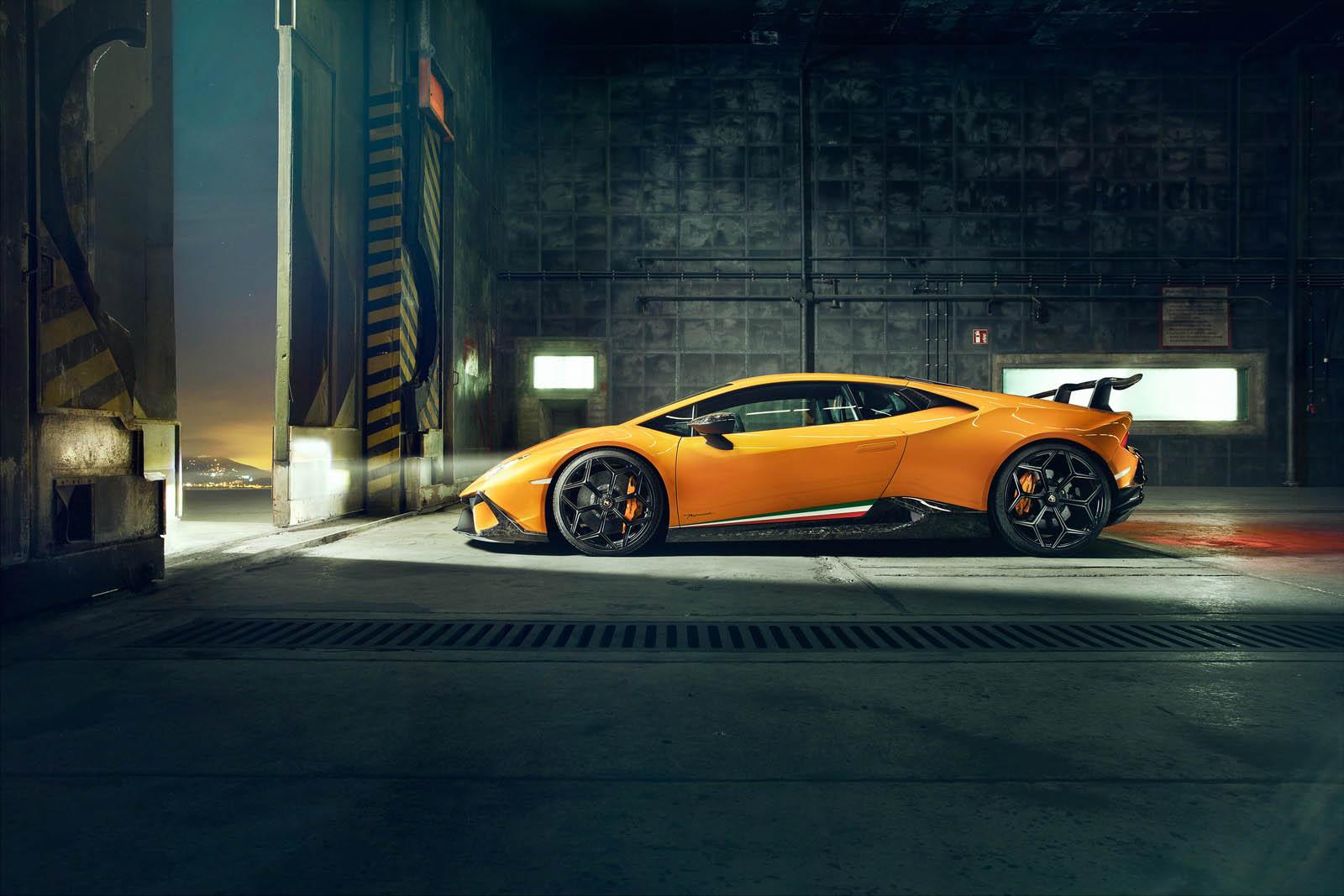 2018 NOVITEC Lamborghini Huracán Performante Side Wallpaper (12)