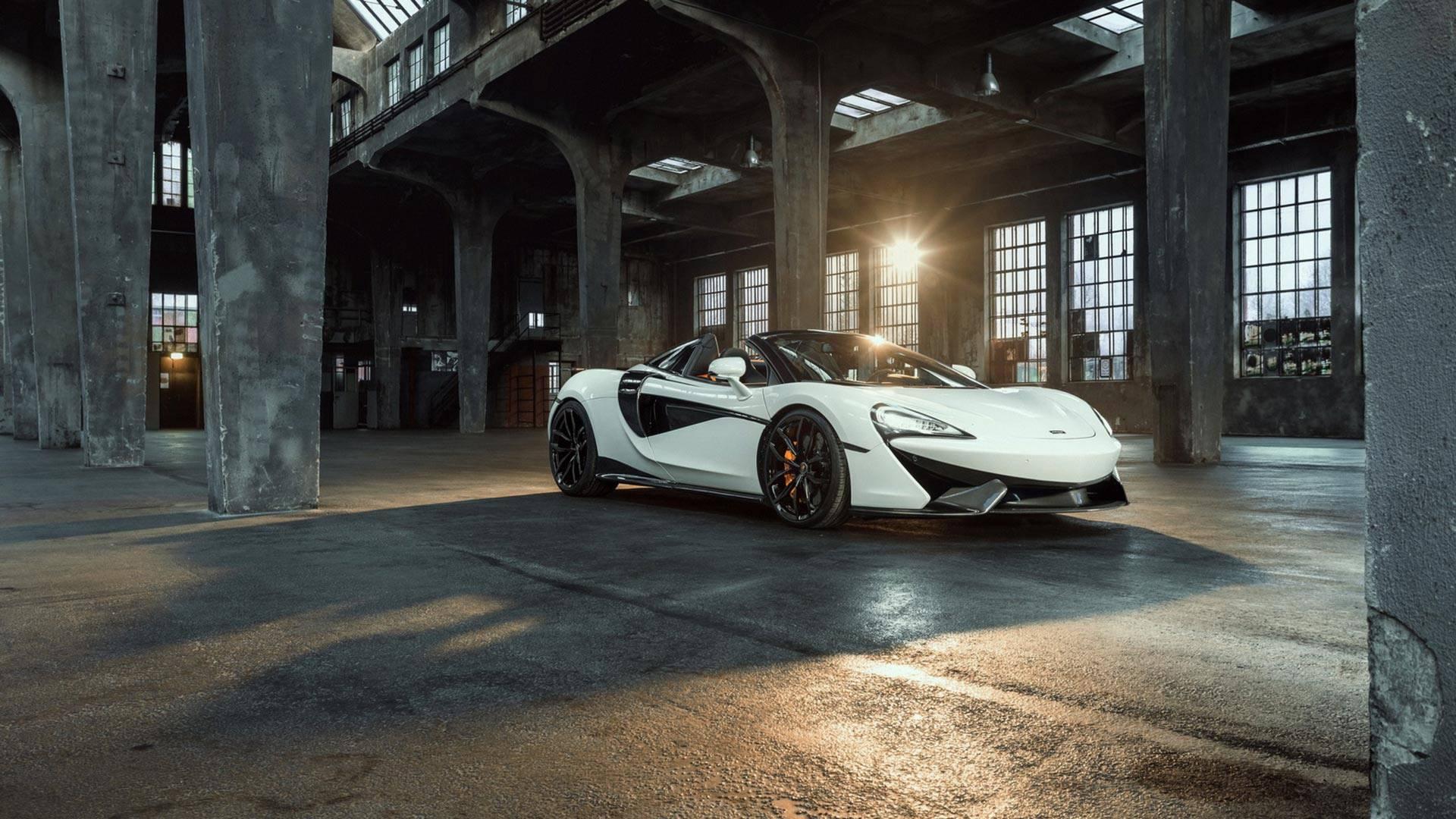 2018 NOVITEC McLaren 570S Spider Front Three-Quarter Wallpapers (6)