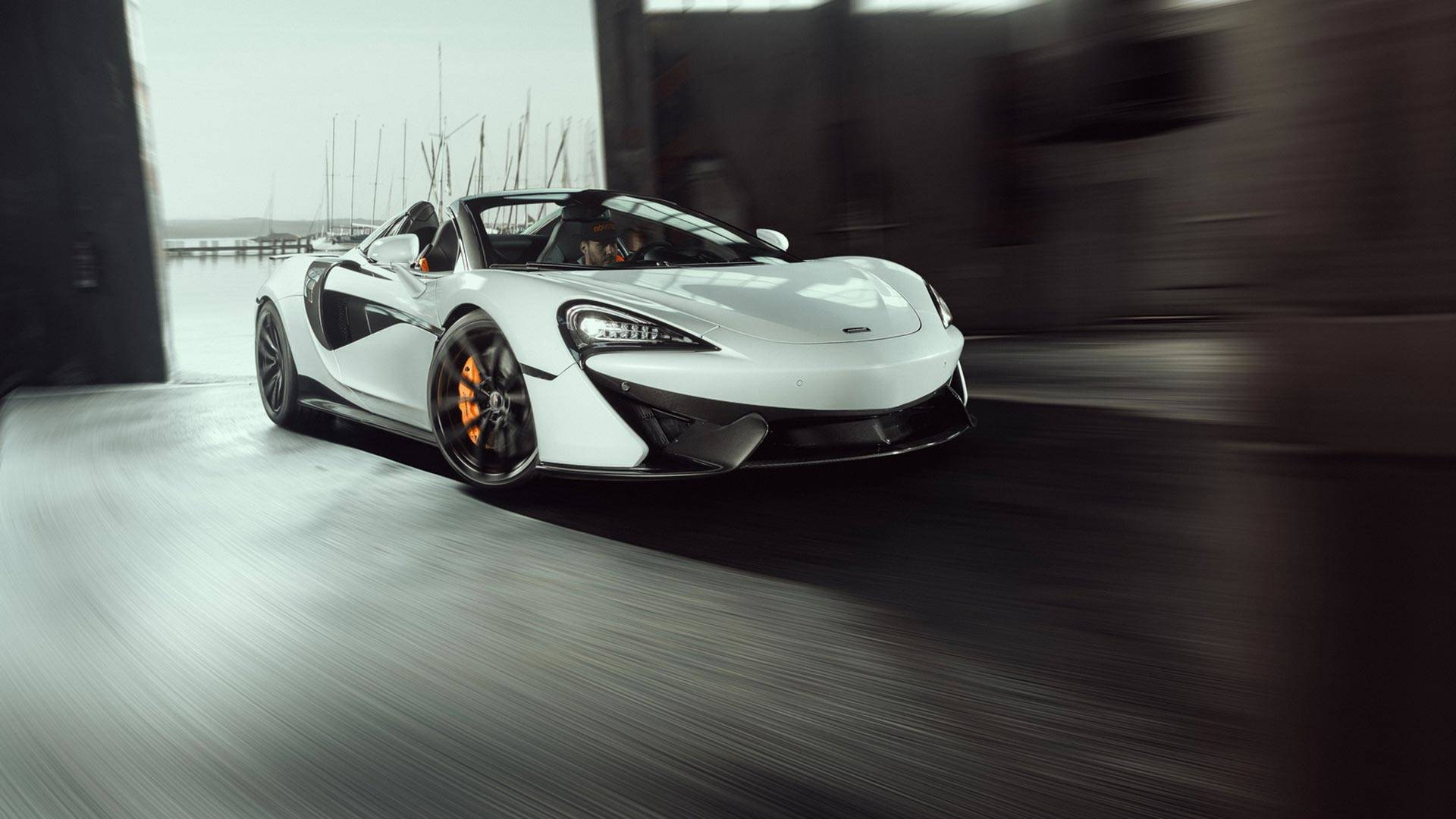 2018 NOVITEC McLaren 570S Spider Front Three-Quarter Wallpapers (1)