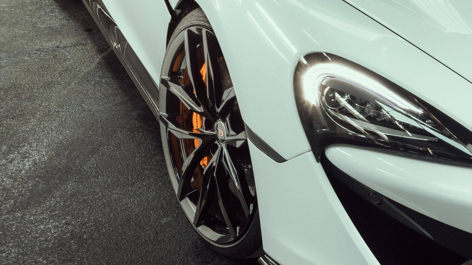 2018 NOVITEC McLaren 570S Spider Headlight Wallpaper (12)