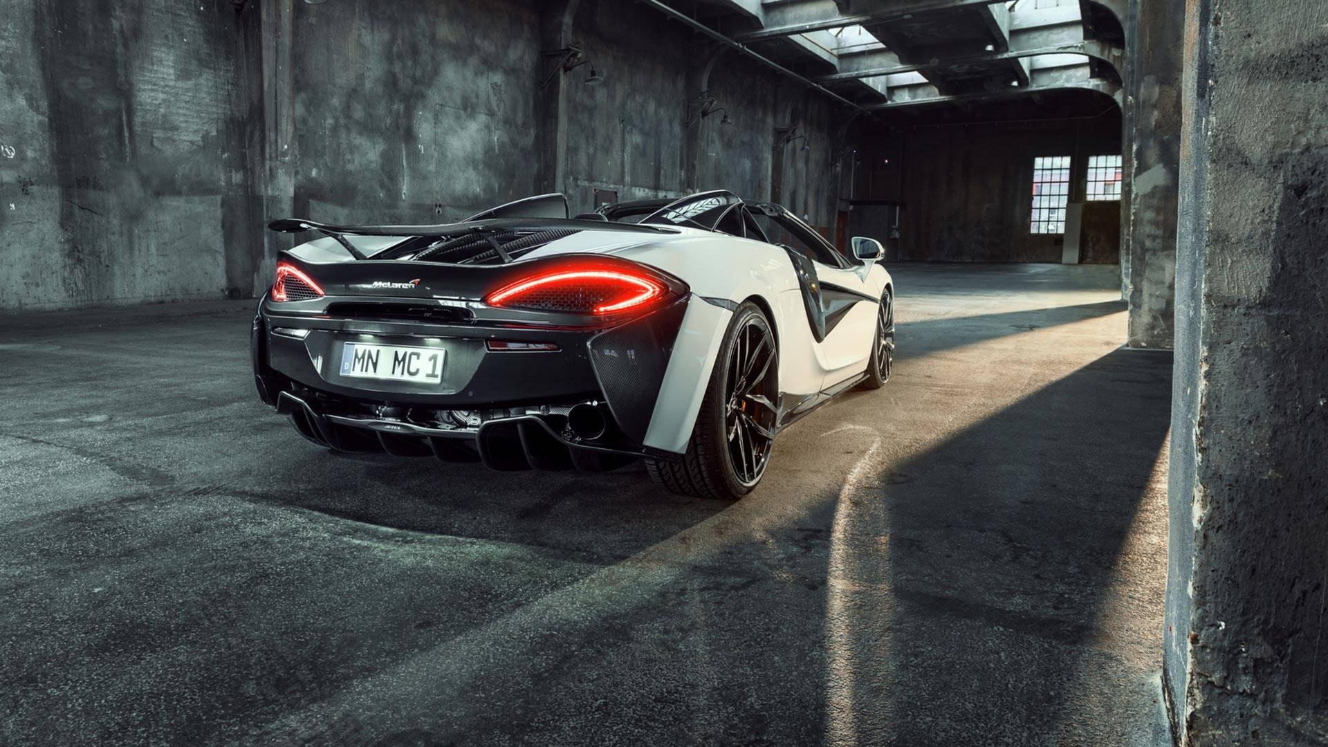 2018 NOVITEC McLaren 570S Spider Rear Three-Quarter Wallpapers (9)