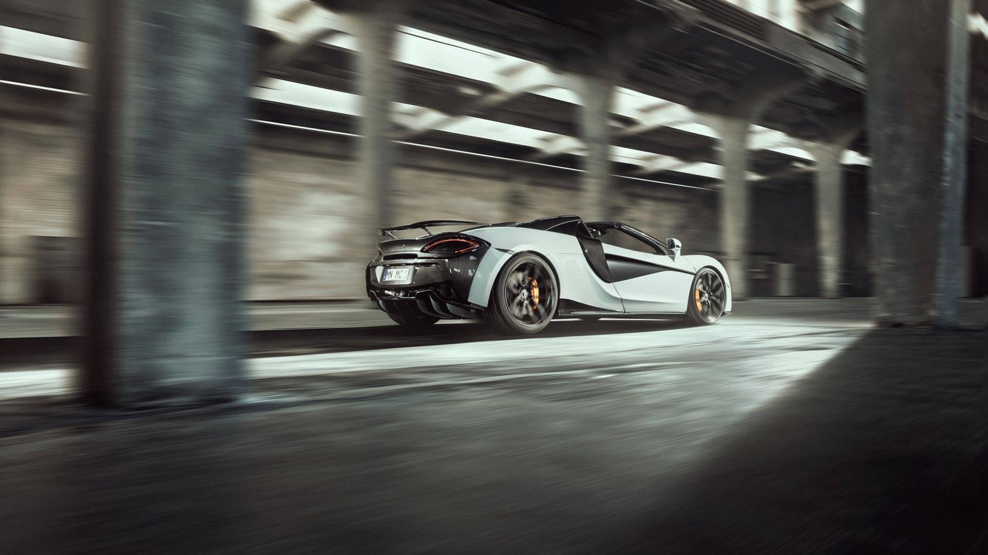 2018 NOVITEC McLaren 570S Spider Rear Three-Quarter Wallpapers (2)