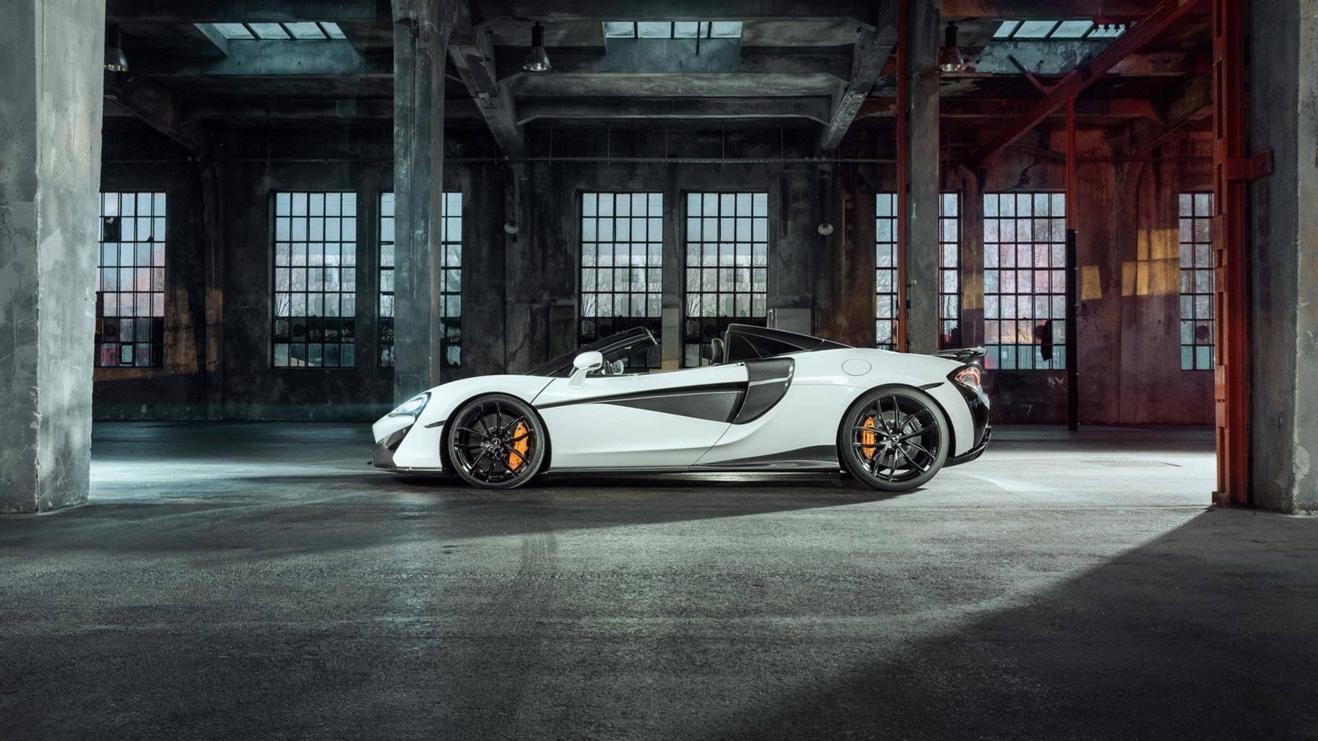 2018 NOVITEC McLaren 570S Spider Side Wallpapers (3)