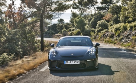 2018 Porsche 911 GT3 with Touring Package Front Wallpaper 450x275 (74)